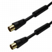 5m Supreme Male TV Aerial Lead - Ferrite Cores and 24k Gold Contacts